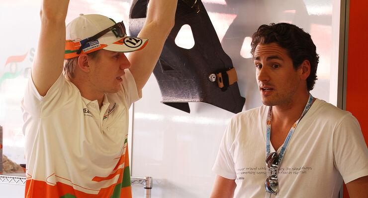 Nico Hülkenberg Adrian Sutil 2012