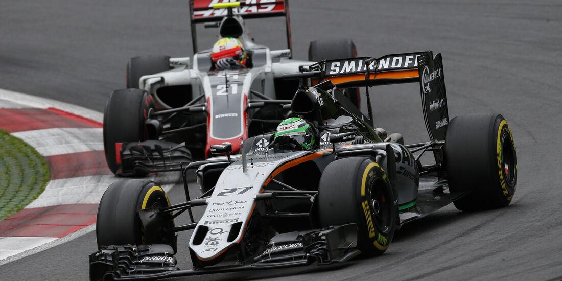 Nico Hülkenberg - Esteban Gutierrez - Formel 1 - GP Österreich - 3. Juli 2016