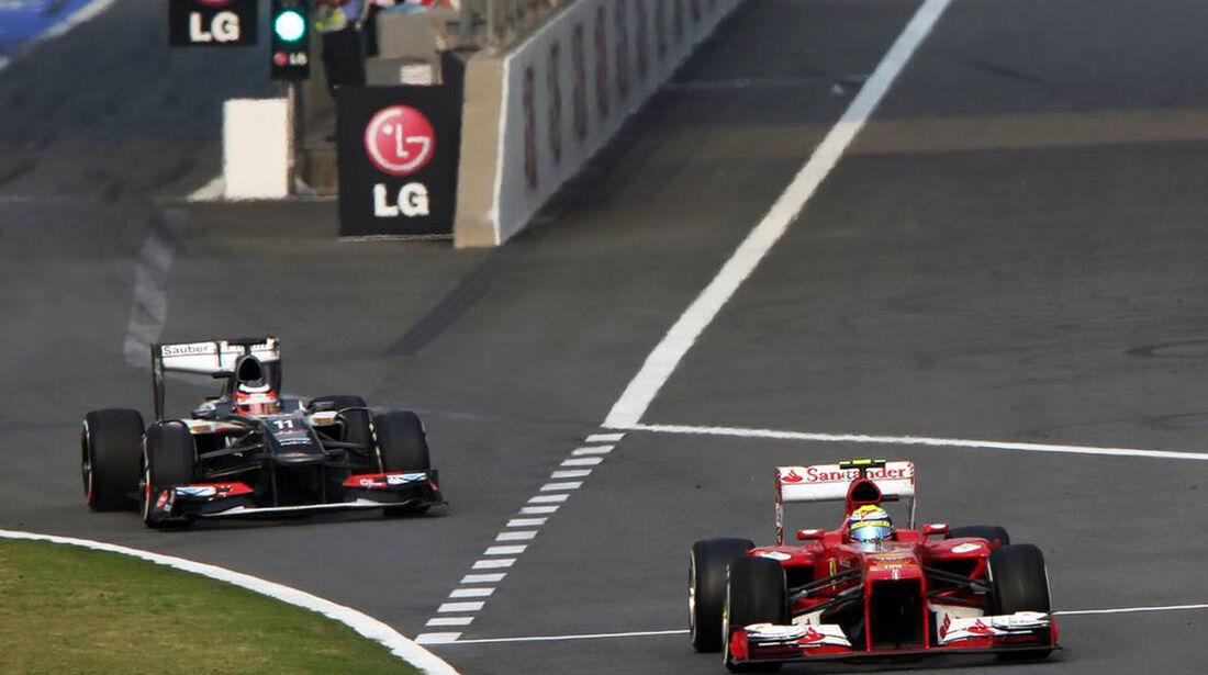 Nico Hülkenberg - Felipe Massa - Formel 1 - GP China - 14. April 2013