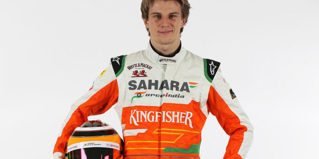 Nico Hülkenberg Force India 2012