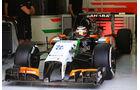Nico Hülkenberg - Force India - Formel 1 - Bahrain - Test - 1. März 2014