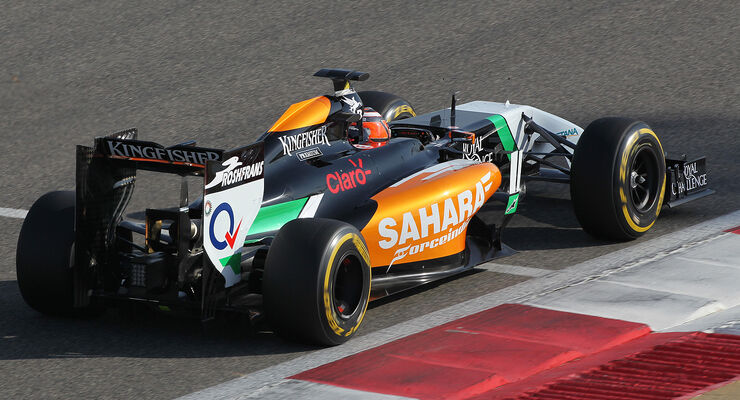 Nico Hülkenberg - Force India - Formel 1 - Bahrain - Test - 19. Februar 2014