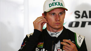 Nico Hülkenberg - Force India - Formel 1 - GP Abu Dhabi - 21. November 2014