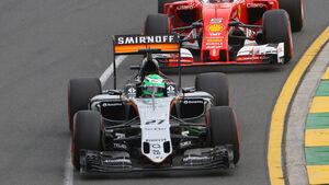 Nico Hülkenberg - Force India - Formel 1 - GP Australien - Melbourne - 19. März 2016