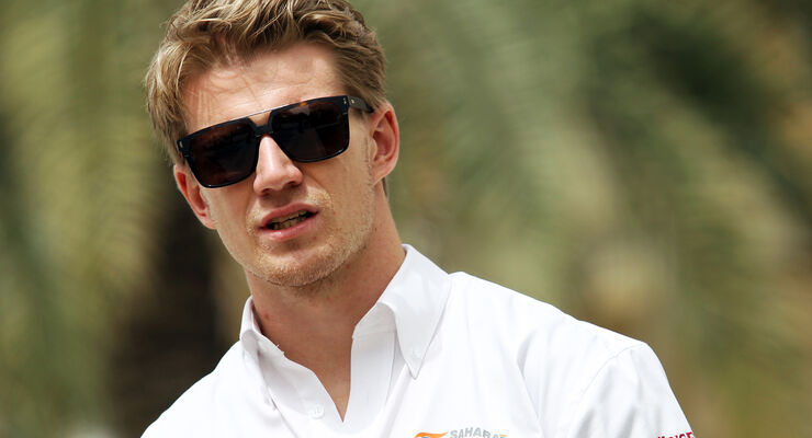 Nico Hülkenberg - Force India - Formel 1 - GP Bahrain - Sakhir - 3. April 2014