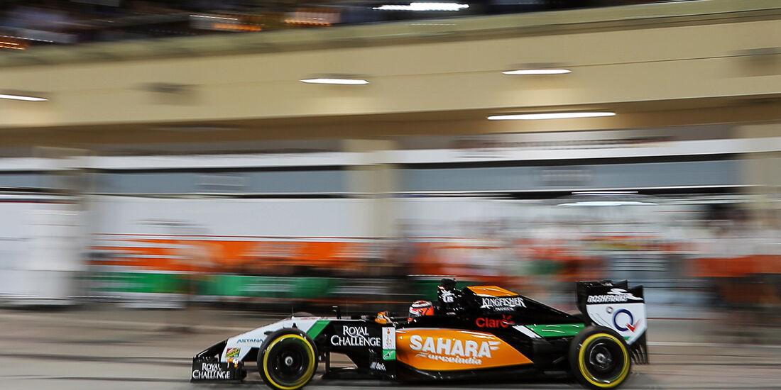 Nico Hülkenberg - Force India - Formel 1 - GP Bahrain - Sakhir - 5. April 2014
