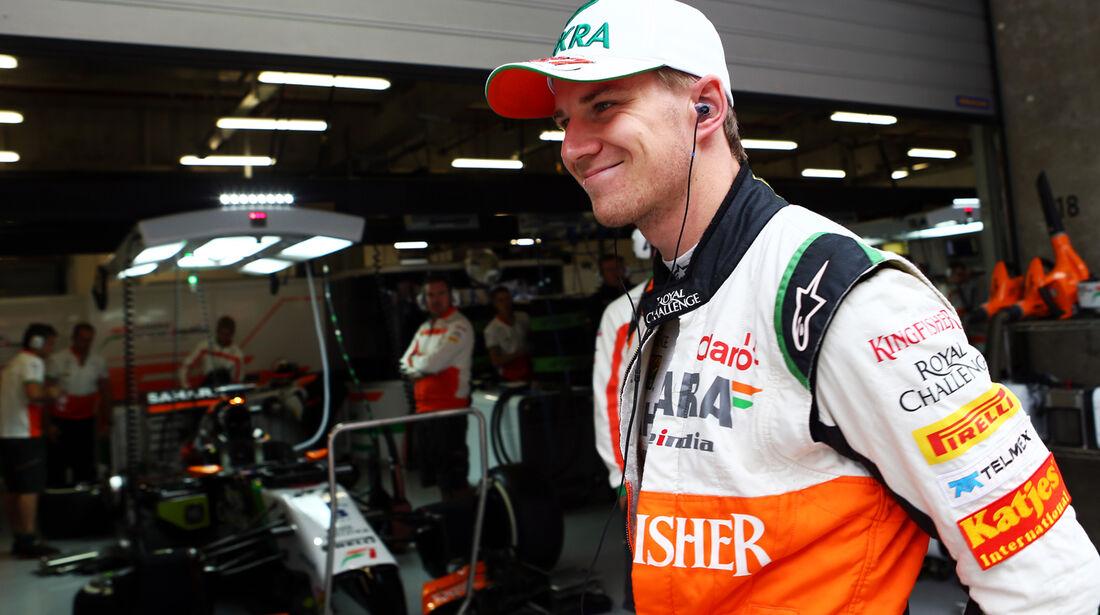 Nico Hülkenberg - Force India - Formel 1 - GP China - Shanghai - 18. April 2014