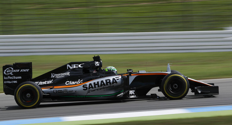 Nico Hülkenberg - Force India  - Formel 1 - GP Deutschland - 30. Juli 2016