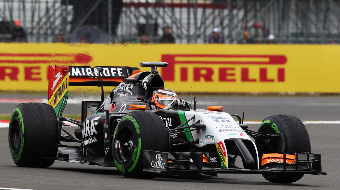 Nico Hülkenberg - Force India - Formel 1 - GP England - Silverstone - 5. Juli 2014