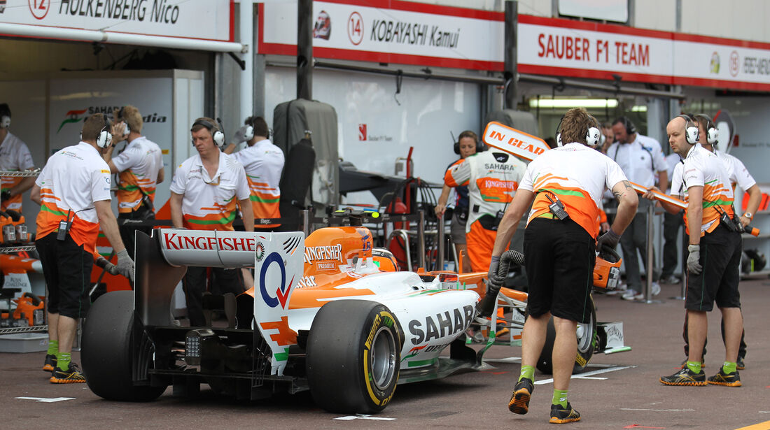 Nico Hülkenberg - Force India - Formel 1 - GP Monado - 24. Mai 2012