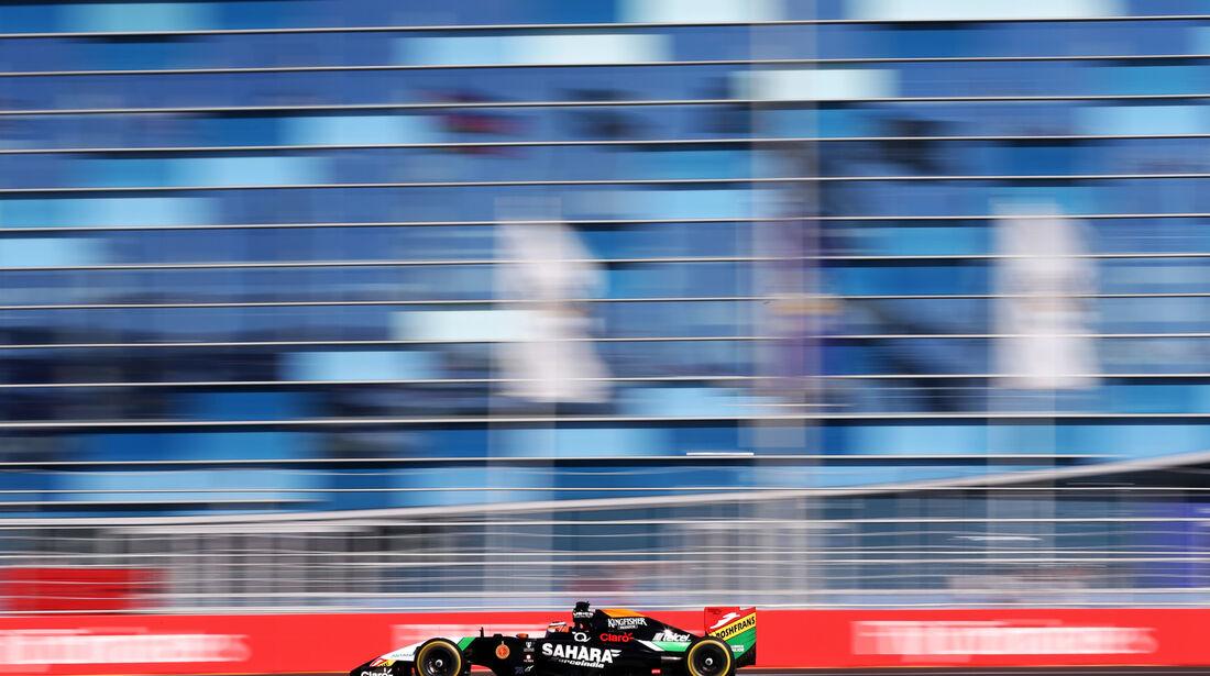 Nico Hülkenberg - Force India - Formel 1 - GP Russland - Sochi - 10. Oktober 2014