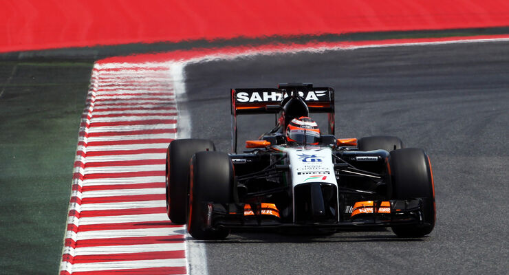 Nico Hülkenberg - Force India - Formel 1 - GP Spanien - Barcelona - 10. Mai 2014