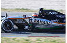 Nico Hülkenberg - Force India -  Formel 1-Test - Barcelona - 28. Februar 2015