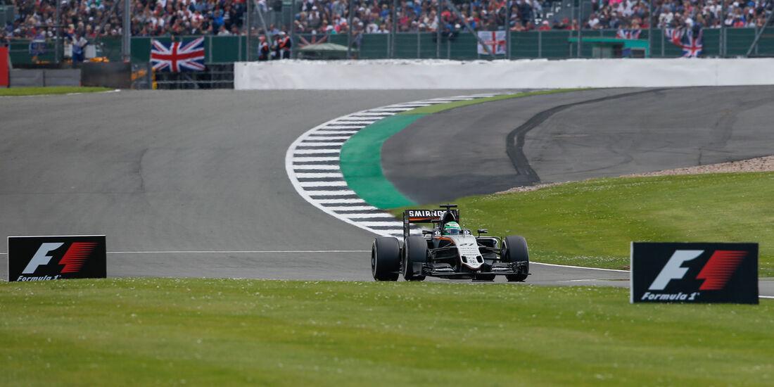 Nico Hülkenberg - Force India - GP England 2016 - Silverstone - Rennen