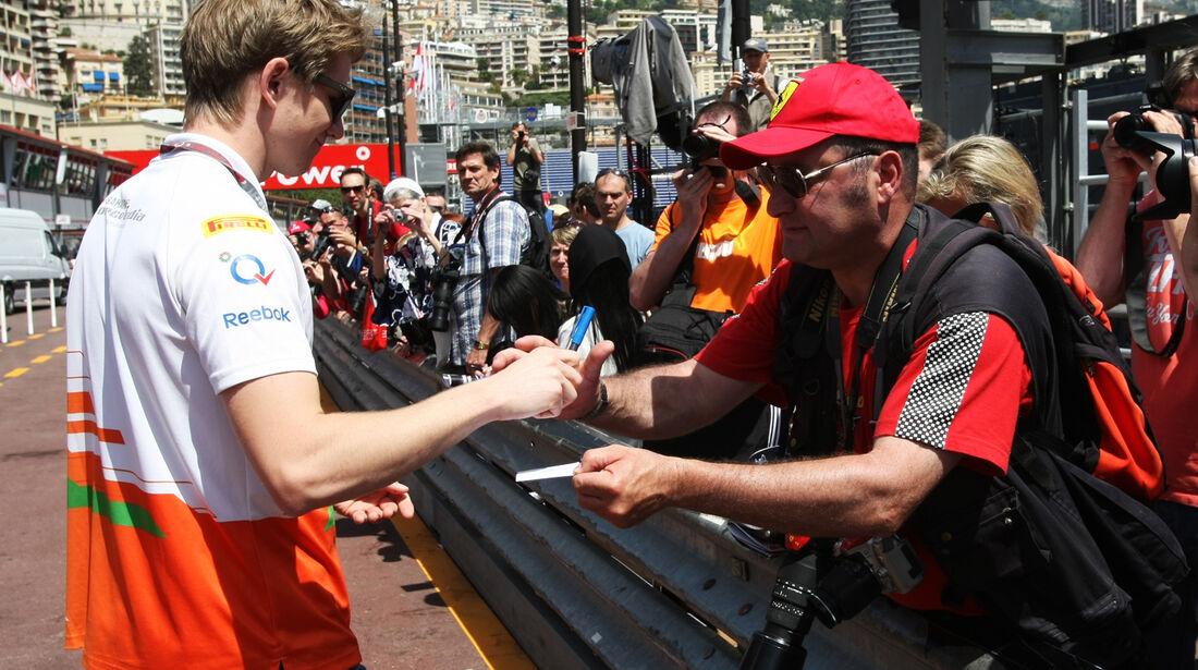 Nico Hülkenberg - Force India - GP Monaco - 23. Mai 2012