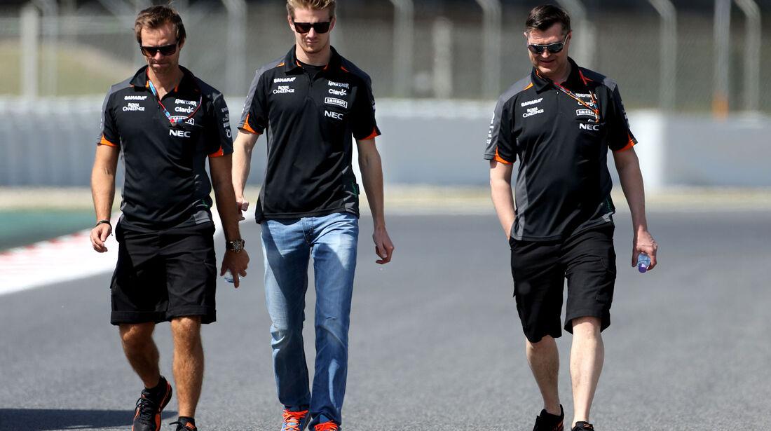 Nico Hülkenberg - Force India - GP Spanien - Barcelona - Donnerstag - 7.5.2015