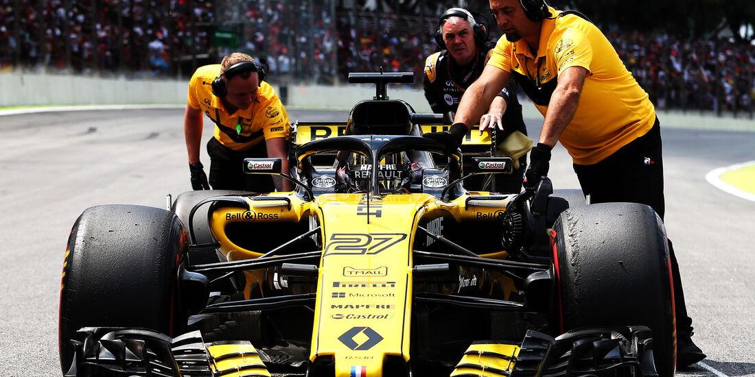 Nico Hülkenberg - Formel 1 - GP Brasilien 2018