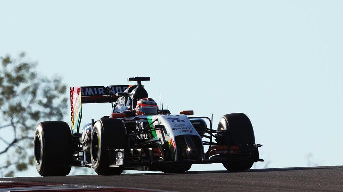 Nico Hülkenberg - Formel 1 - GP USA - 1. November 2014
