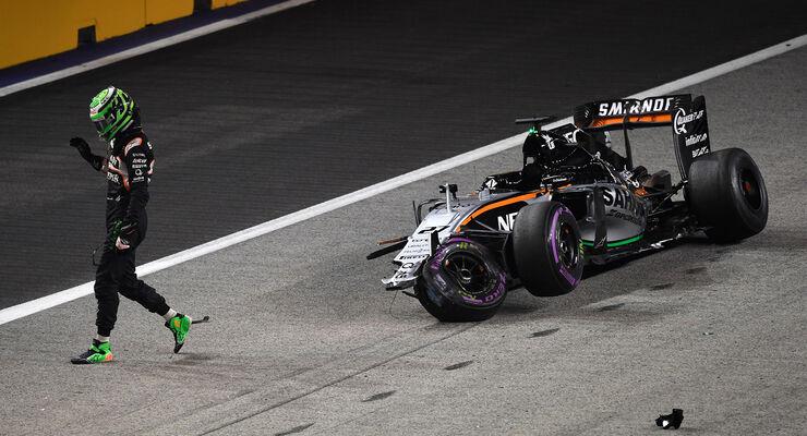 Nico Hülkenberg - GP Singapur 2016