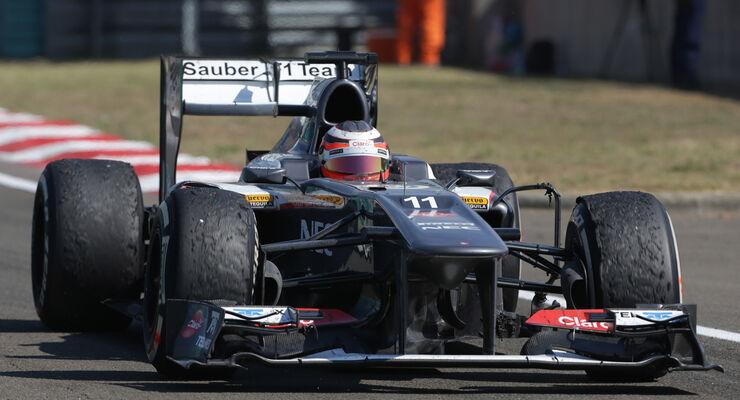 Nico Hülkenberg GP Ungarn 2013