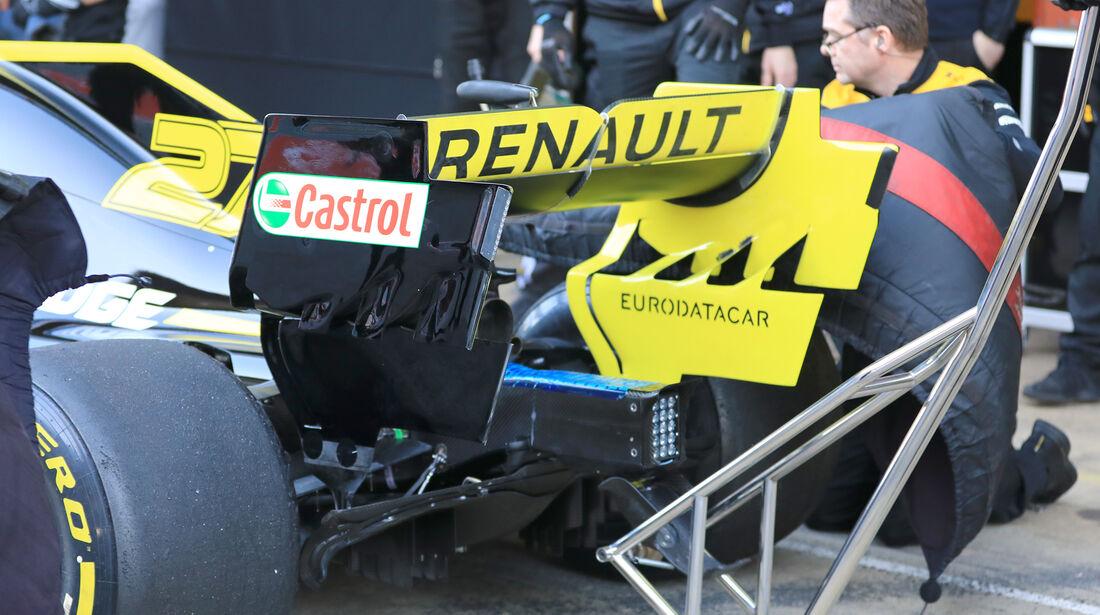 Nico Hülkenberg - Renault - Barcelona - F1-Test - 26. Februar 2019