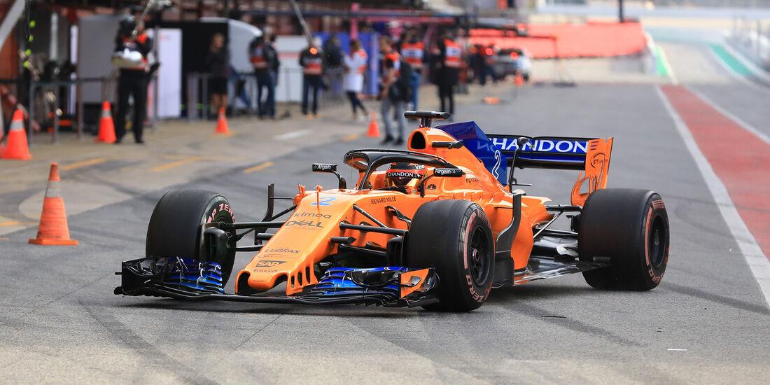 Nico Hülkenberg - Renault - F1-Test - Barcelona - Tag 7 - 8. März 2018