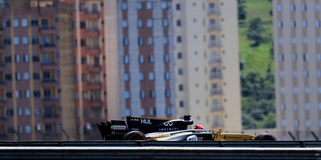 Nico Hülkenberg - Renault - Formel 1 - GP Brasilien - 10. November 2017