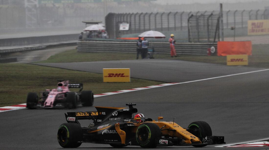 Nico Hülkenberg - Renault - Formel 1 - GP China - Shanghai - Freitag - 7.4.2017