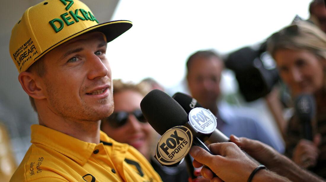 Nico Hülkenberg - Renault - Formel 1 - GP Japan - Suzuka - 5. Oktober 2017