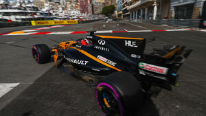 Nico Hülkenberg - Renault - Formel 1 - GP Monaco - 25. Mai 2017