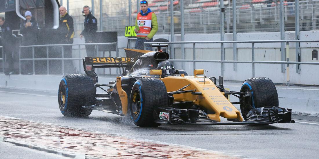 Nico Hülkenberg - Renault - Formel 1 - Test - Barcelona - 2. März 2017
