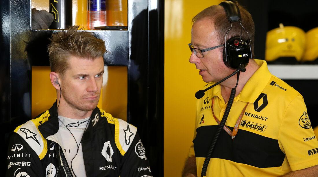 Nico Hülkenberg - Renault - GP Abu Dhabi - Formel 1 - 23. November 2018