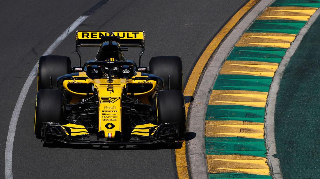 Nico Hülkenberg - Renault - GP Australien 2018 - Melbourne - Albert Park - Freitag - 23.3.2018