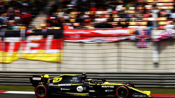 Nico Hülkenberg - Renault - GP China - Shanghai - Samstag - 13.4.2019