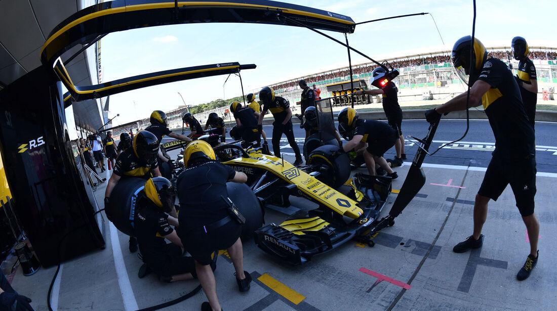 Nico Hülkenberg - Renault - GP England - Silverstone - Formel 1 - Samstag - 7.7.2018