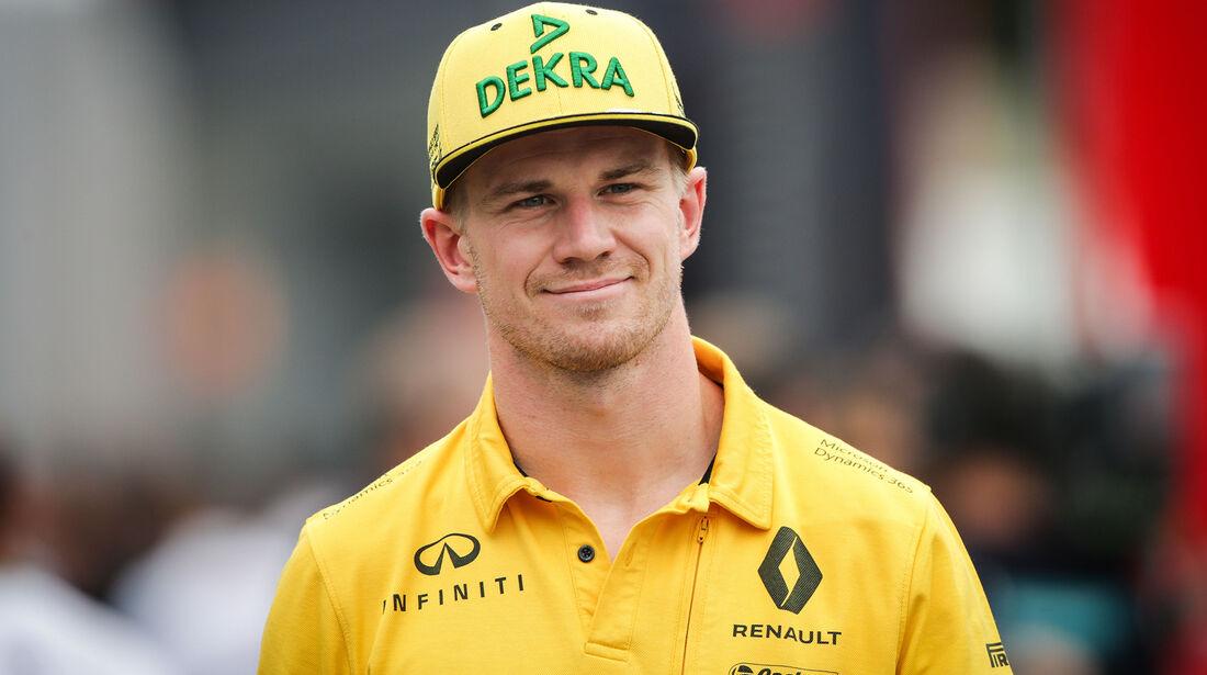 Nico Hülkenberg - Renault - GP Italien - Monza - Formel 1 - 31. August 2017