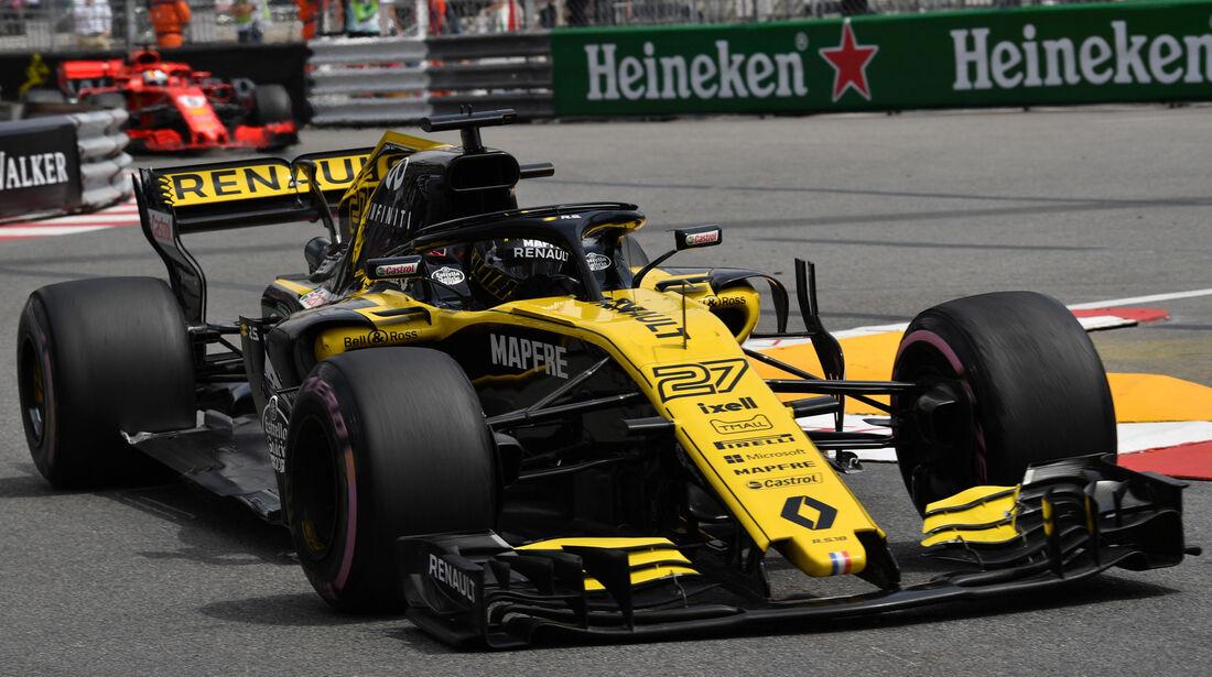 Nico Hülkenberg - Renault - GP Monaco - Formel 1 - Donnerstag - 24.5.2018