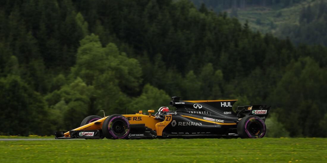 Nico Hülkenberg - Renault - GP Österreich 2017 - Spielberg - Qualifying