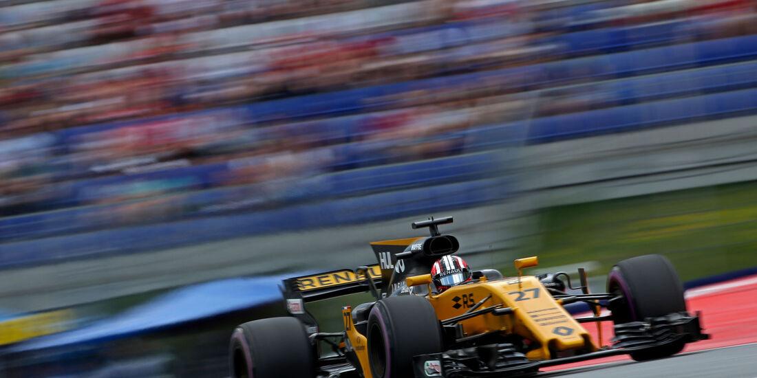 Nico Hülkenberg - Renault - GP Österreich - Spielberg - Formel 1 - Freitag - 7.7.2017