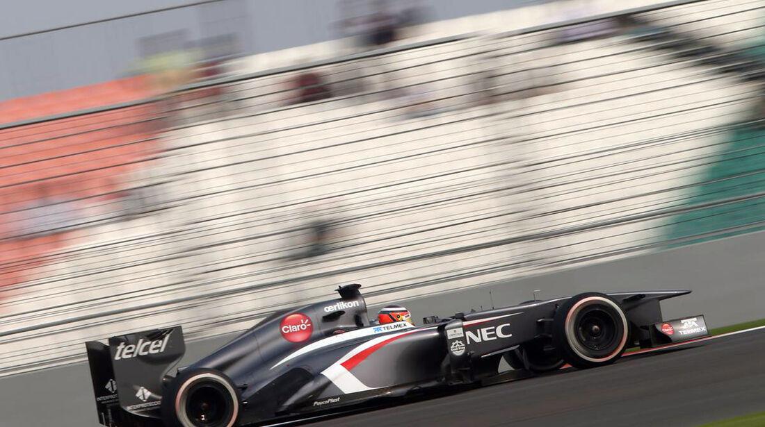 Nico Hülkenberg - Sauber - Formel 1 - GP Indien - 26. Oktober 2013