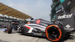 Nico Hülkenberg Sauber GP Malaysia 2013