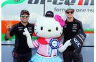 Nico Hülkenberg - Sergio Perez - Hello Kitty - Formel 1 - GP Monaco - Sonntag - 24. Mai 2015