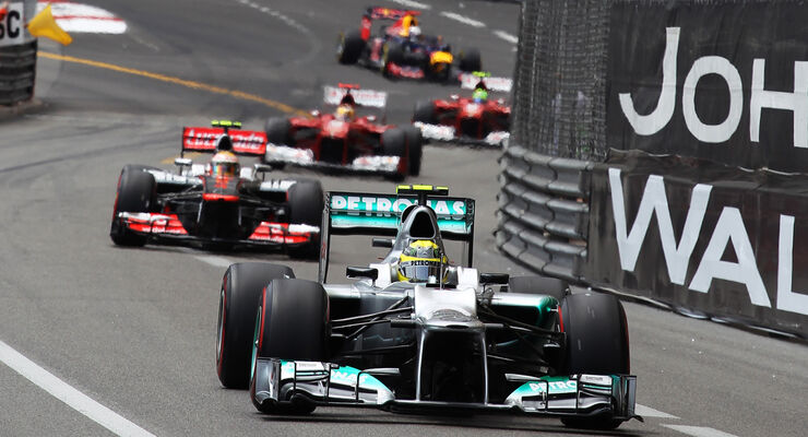 Nico Rosbeg GP Monaco 2012