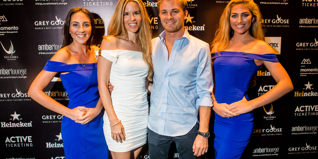 Nico Rosberg - Amber Lounge Party - GP Abu Dhabi 2016