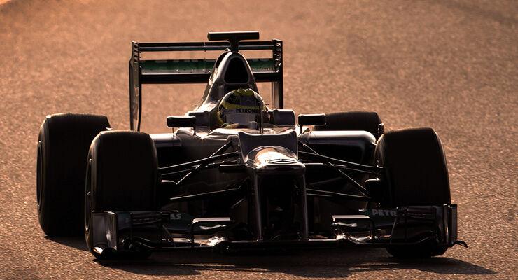 Nico Rosberg Barcelona Test 2012 Mercedes W03