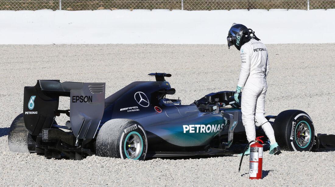 Nico Rosberg - F1-Test Barcelona - 2015