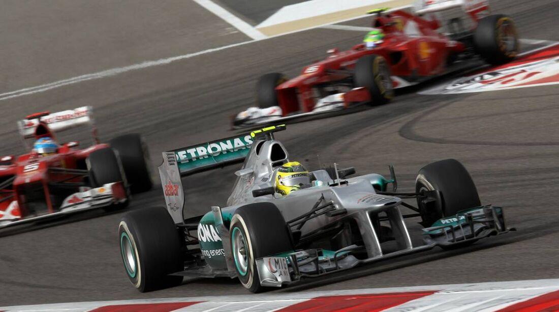 Nico Rosberg  - Formel 1 - GP Bahrain - 22. April 2012