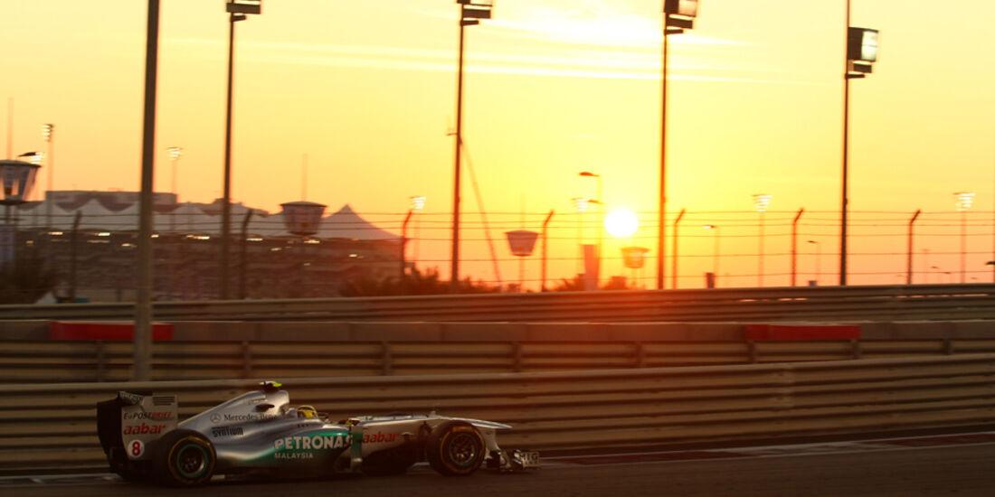 Nico Rosberg GP Abu Dhabi 2011