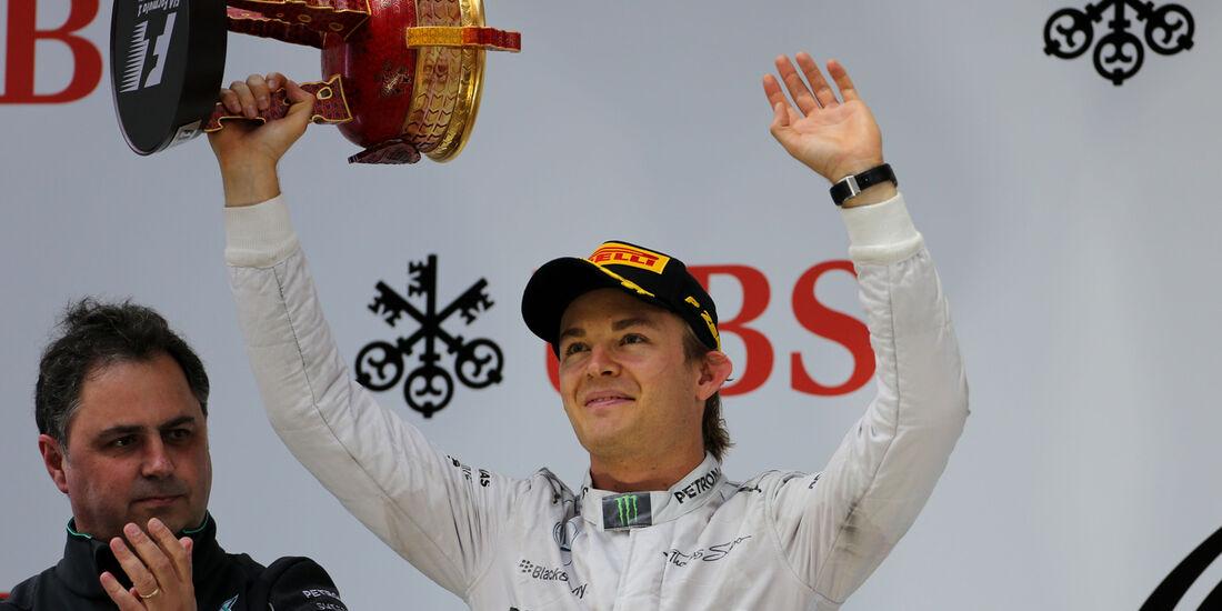 Nico Rosberg - GP China 2014