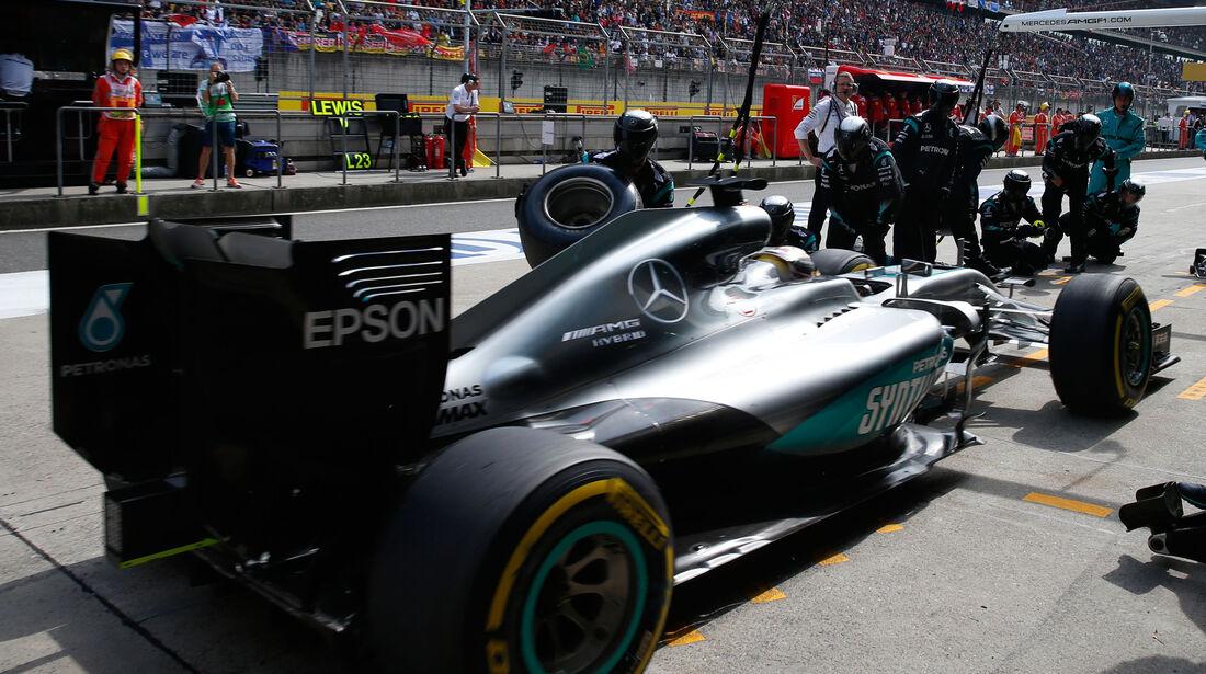Nico Rosberg - GP China 2016